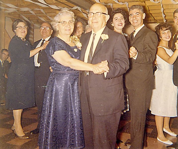 Felicia and Felippo Dancing